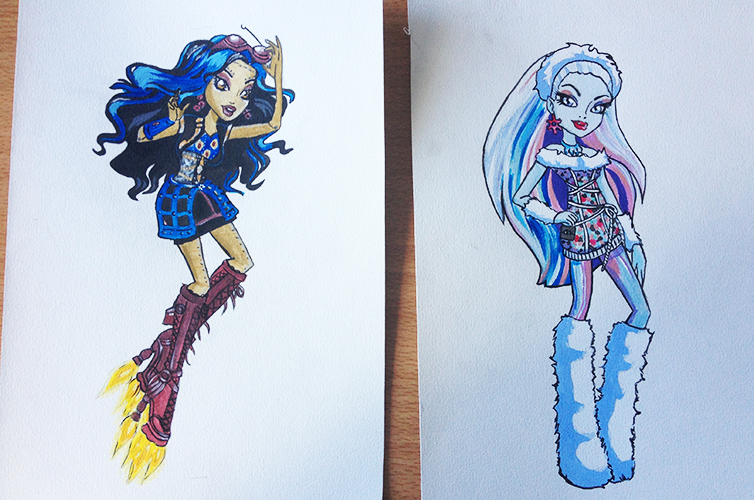 Personnages Monster High